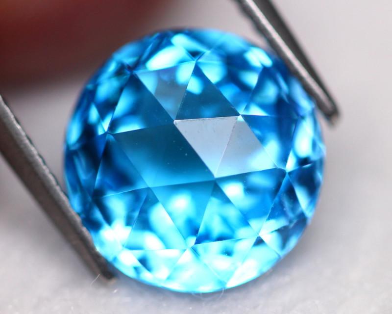 Swiss Topaz 5.01Ct Natural Swiss Blue Color Topaz E1607