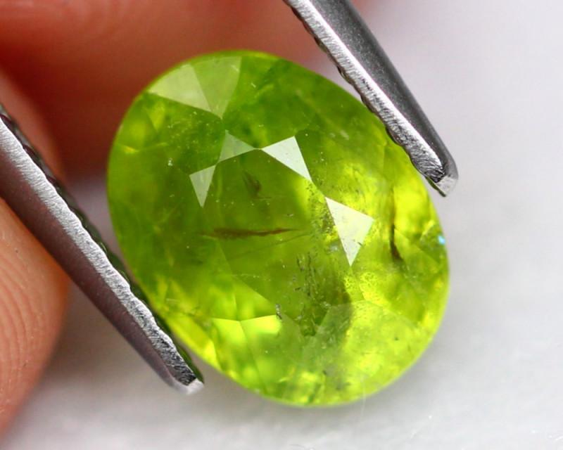 Grossular 2.36Ct Natural Green Grossular Garnet A1704