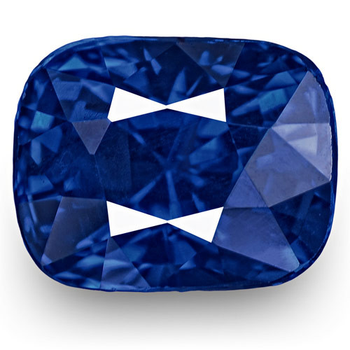 GRS Certified Sri Lanka Blue Sapphire, 1.18 Carats, Rich Intense Royal Blue