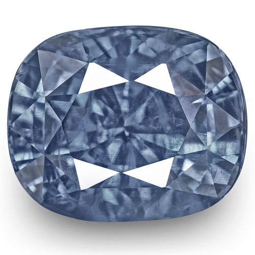 GIA & IGI Certified Kashmir Blue Sapphire, 5.63 Carats, Lively Intense Blue