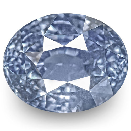 GIA Certified Sri Lanka Blue Sapphire, 7.42 Carats, Lustrous Blue Oval