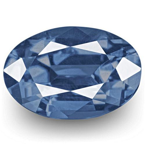 GRS Certified Sri Lanka Blue Sapphire, 1.61 Carats, Lively Intense Blue