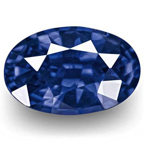 GRS Certified Sri Lanka Blue Sapphire, 1.11 Carats, Royal Blue Oval