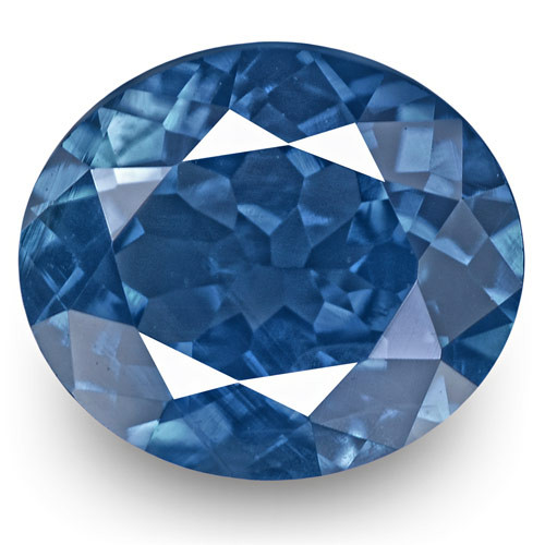 GRS Certified Madagascar Blue Sapphire, 1.04 Carats, Cornflower Blue Oval