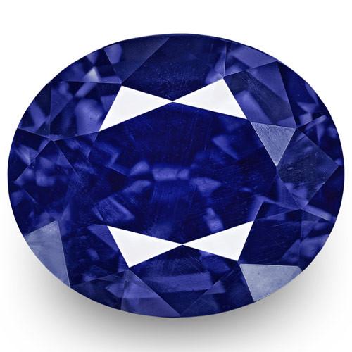 GRS Certified Sri Lanka Blue Sapphire, 1.60 Carats, Rich Intense Royal Blue