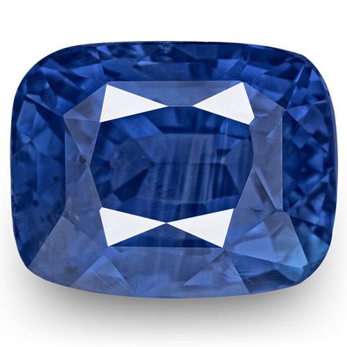 GRS Certified Sri Lanka Blue Sapphire, 2.58 Carats, Velvety Cornflower Blue