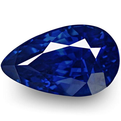 GRS Certified Sri Lanka Blue Sapphire, 2.34 Carats, Rich Intense Royal Blue
