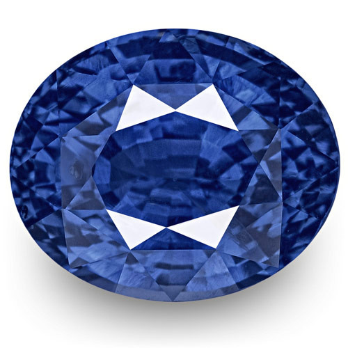 GRS Certified Sri Lanka Blue Sapphire, 7.53 Carats, Lively Cornflower Blue