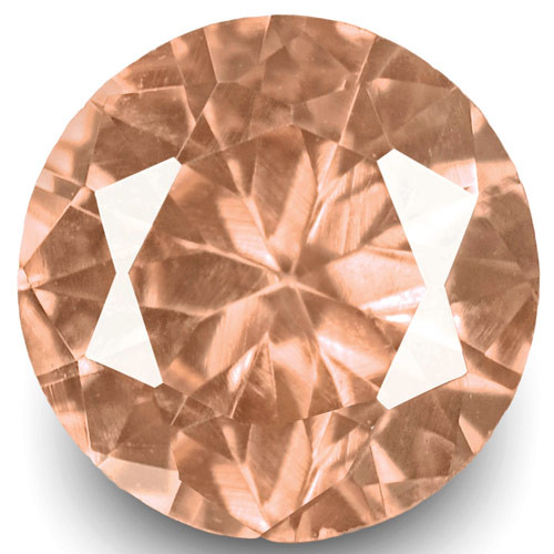 GRS Certified Madagascar Padparadscha Sapphire, 0.26 Carats, Orange Pink