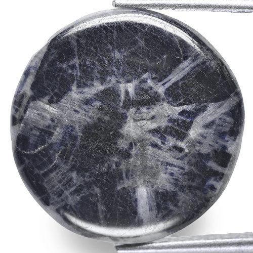 Burma Trapiche Sapphire, 19.12 Carats, Blue Round