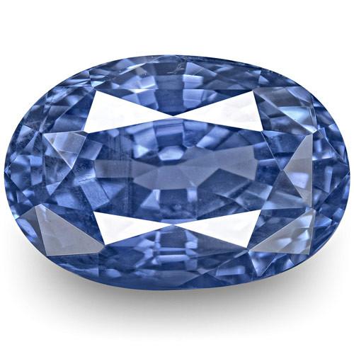 GIA Certified Sri Lanka Blue Sapphire, 3.58 Carats, Oval