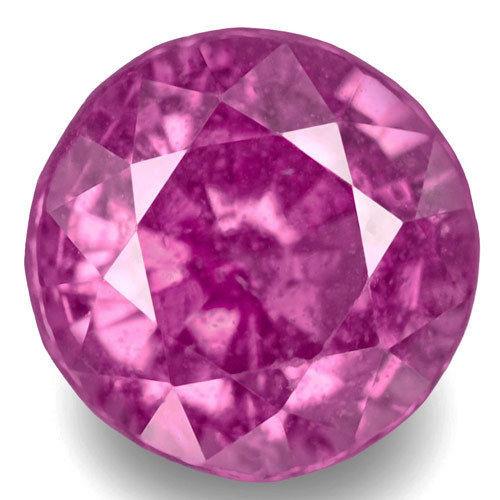 Madagascar Pink Sapphire, 1.06 Carats, Pink Round
