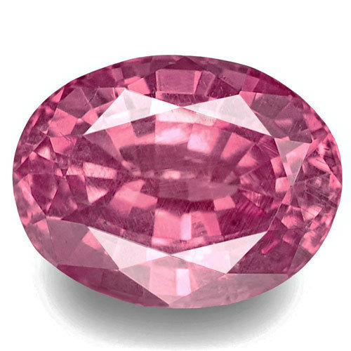 Madagascar Pink Sapphire, 0.81 Carats, Pink Oval