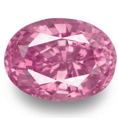 Madagascar Pink Sapphire, 0.85 Carats, Pink Oval