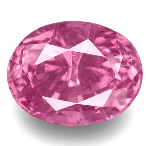 Madagascar Pink Sapphire, 0.68 Carats, Pink Oval