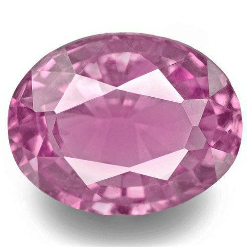 Madagascar Pink Sapphire, 0.94 Carats, Pink Oval