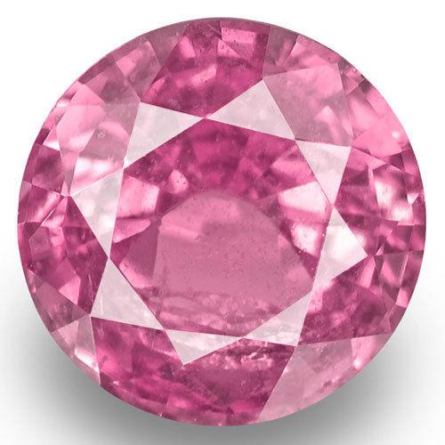 Madagascar Pink Sapphire, 0.71 Carats, Pink Round