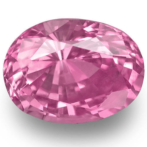 Madagascar Pink Sapphire, 0.71 Carats, Pink Oval