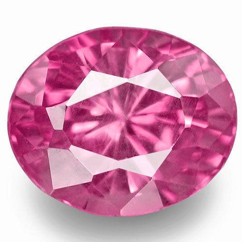 Madagascar Pink Sapphire, 1.02 Carats, Pink Oval