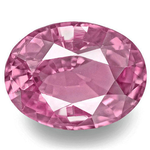 Madagascar Pink Sapphire, 1.33 Carats, Pink Oval