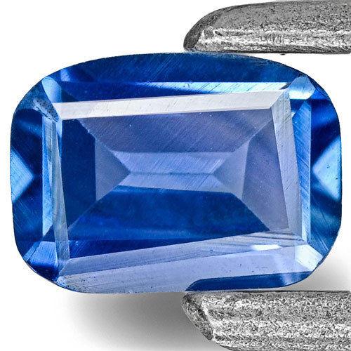 Madagascar Blue Sapphire, 0.29 Carats, Blue Rectangular