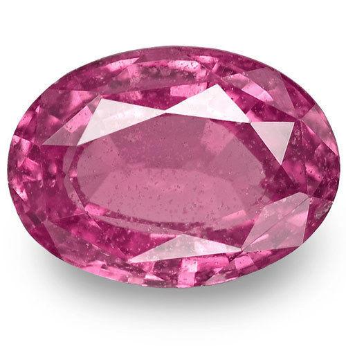 Madagascar Pink Sapphire, 1.14 Carats, Pink Oval
