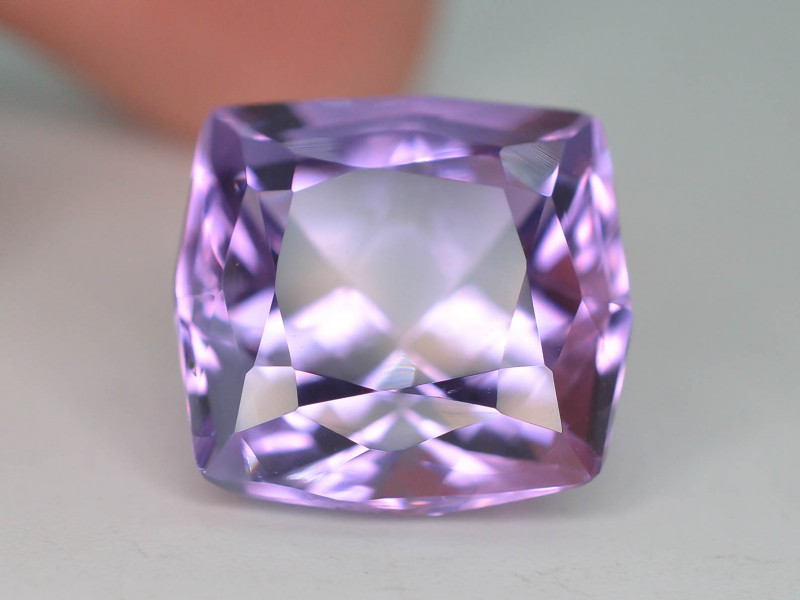 Top Color 13.15 ct AAA Cut Untreated Amethyst