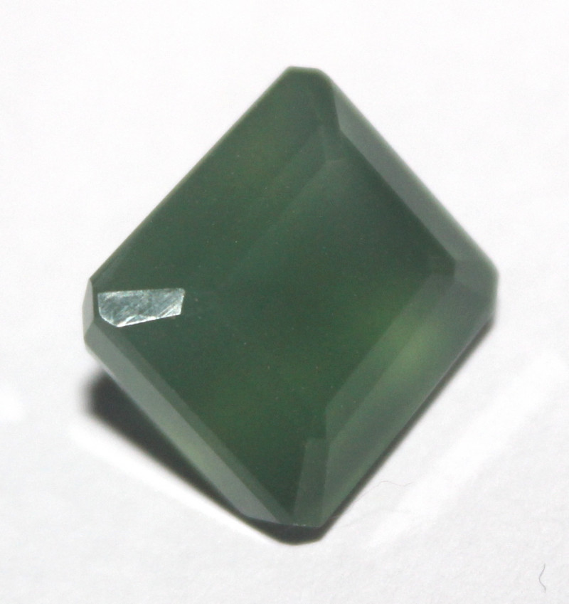 12.20 Crt Natural Serpentine Faceted Gemstone 49