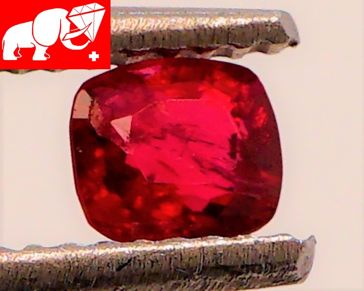 JEDI! GLOWING VIVID COLOR! Unheated 0.48 CT JEDI RED Spinel $1,500 (Burma)
