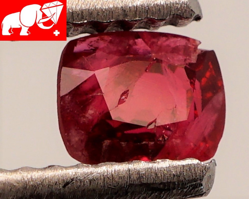 JEDI! GLOWING VIVID COLOR! Unheated 0.50 CT JEDI RED Spinel $1,100 (Burma)