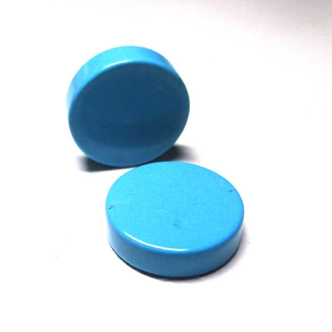 8.20tcw Turquoise Matching Round Discs