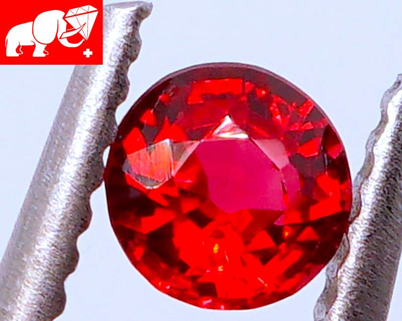 VVS! JEDI VIVID RED! No Heat Spinel (Mogok, Burma) $2,000!