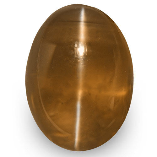 IGI Certified Sri Lanka Chrysoberyl Cat's Eye, 2.59 Carats, Oval