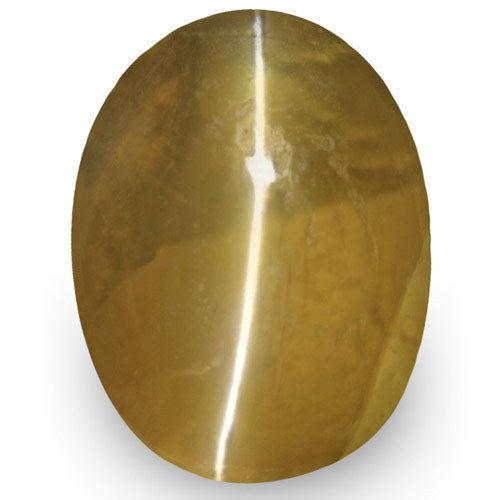 IGI Certified Sri Lanka Chrysoberyl Cat's Eye, 1.29 Carats, Oval
