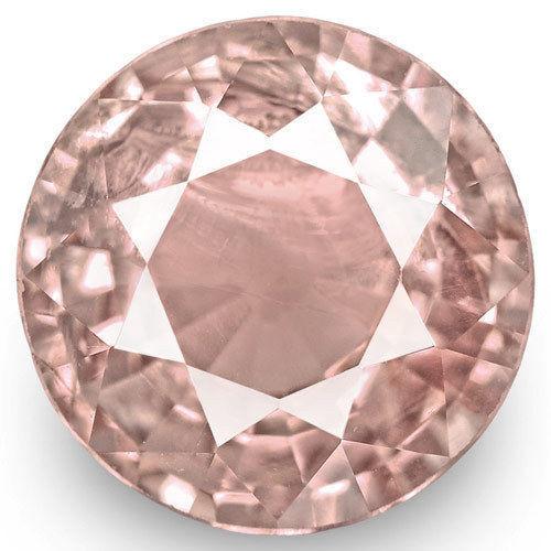 IGI Certified Sri Lanka Spinel, 3.63 Carats, Pastel Pink Round