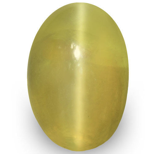 IGI Certified Sri Lanka Chrysoberyl Cat's Eye, 2.27 Carats, Oval