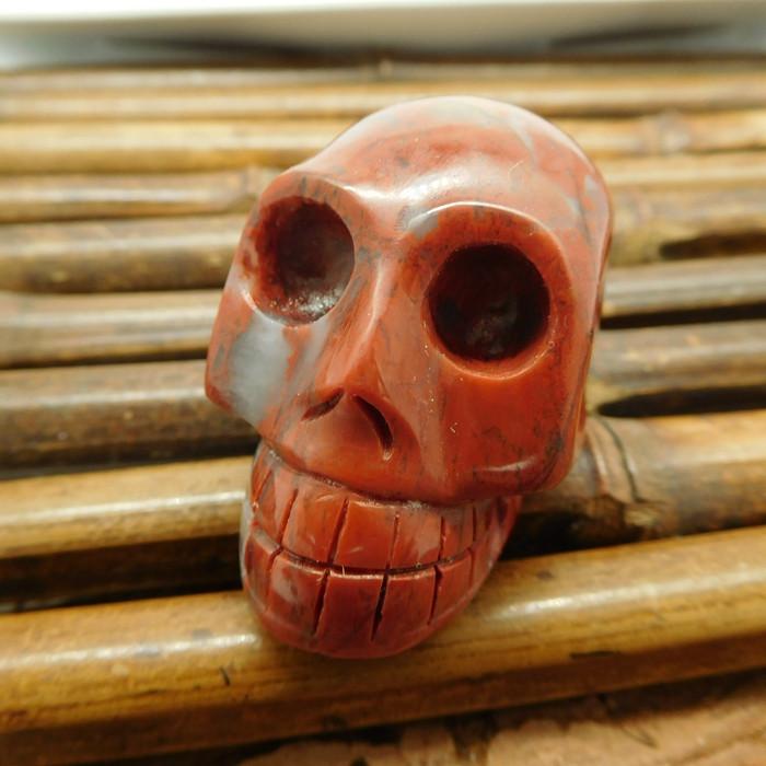 Agate carved skull decoration skull craft (G1214)