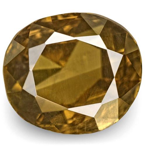 IGI Certified Brazil Alexandrite, 3.84 Carats, Oval