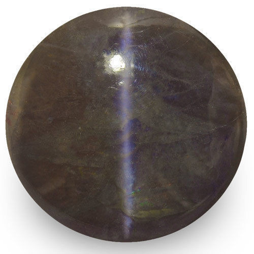IGI Certified India Chrysoberyl Cat's Eye, 26.26 Carats, Round
