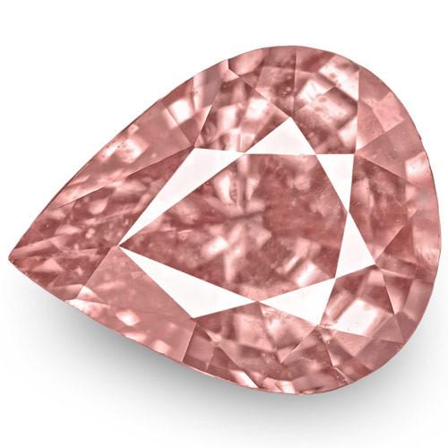 IGI Certified Tajikistan Spinel, 2.00 Carats, Soft Pink Pear