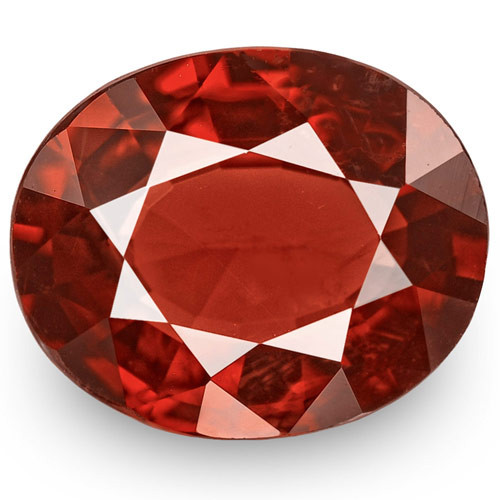 IGI Certified Burma Spinel, 2.87 Carats, Deep Brownish Red Oval