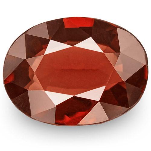 IGI Certified Burma Spinel, 2.39 Carats, Dark Brownish Red Oval