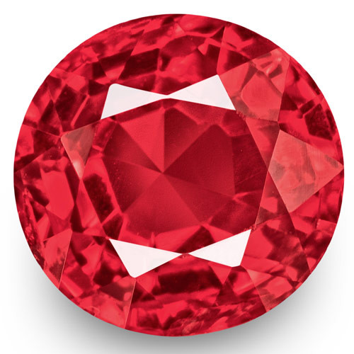 IGI Certified Burma Spinel, 0.94 Carats, Hot Pink Oval
