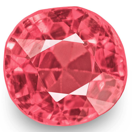 IGI Certified Burma Spinel, 1.01 Carats, Lustrous Baby Pink Cushion