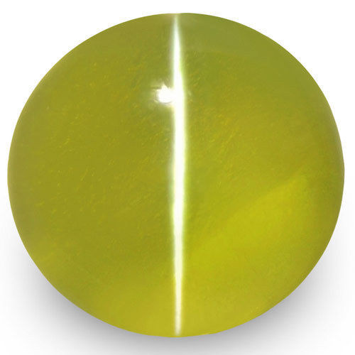 IGI Certified Sri Lanka Chrysoberyl Cat's Eye, 2.12 Carats, Oval