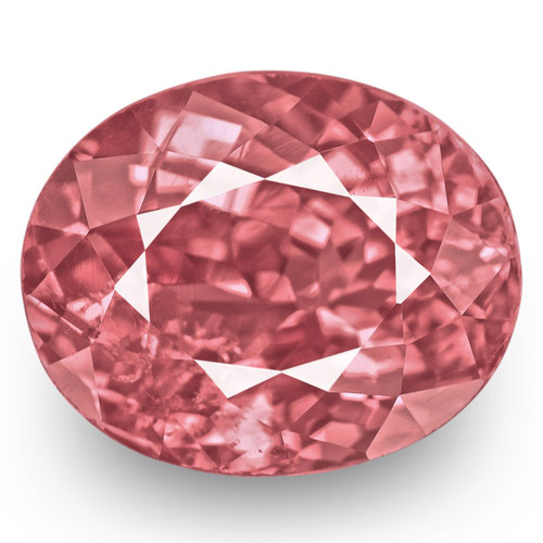 IGI Certified Tajikistan Spinel, 1.95 Carats, Lustrous Pink Oval