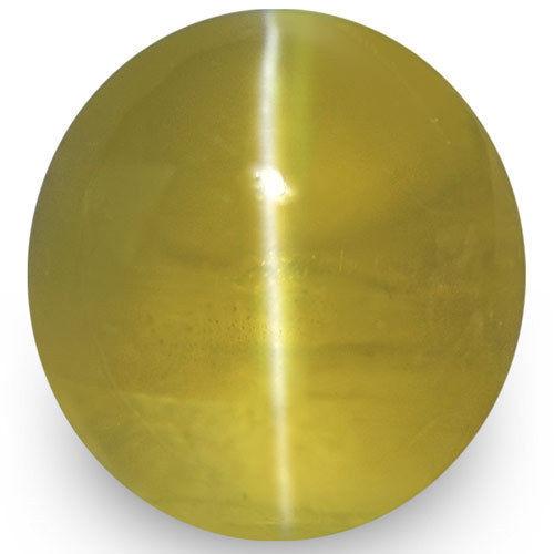 IGI Certified Sri Lanka Chrysoberyl Cat's Eye, 2.43 Carats, Oval