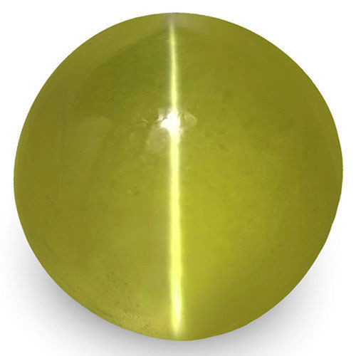 IGI Certified Sri Lanka Chrysoberyl Cat's Eye, 2.37 Carats, Round