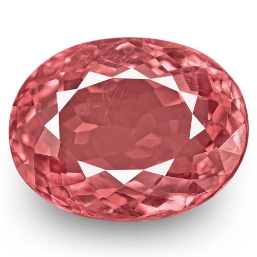 IGI Certified Tajikistan Spinel, 3.10 Carats, Medium Pink Oval