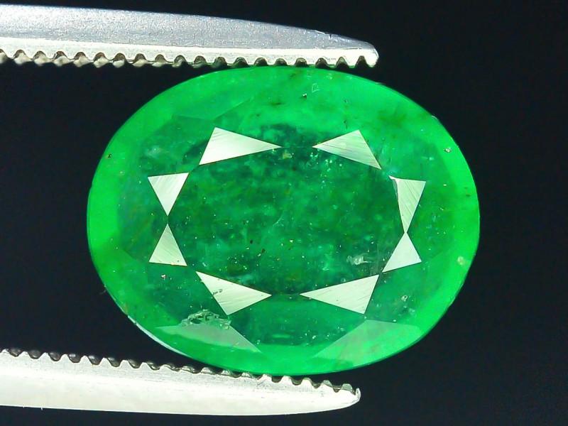 Top Color 2.35 ct Natural Emerald~Swat